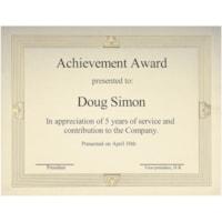 St. James Elite Certificates