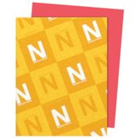 Papier Astrobrights Neenah, rouge fusée, format lettre, certifié FSC et Green Seal, 24 lb, rame