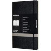 Carnet Pro Moleskine, noir, 5 po x 8 1/4 po, anglais