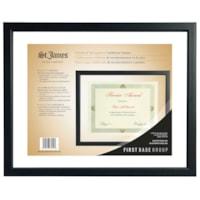 Cadre pour certificat St. James