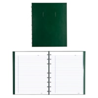 Blueline NotePro Coiled Notebook, 192 Pages, Green, 9 1/4