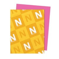 Neenah Astrobrights Pulsar Pink Paper, Letter-Size, FSC And Green Seal Certified, 24 lb., Ream