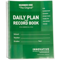 The Original Teacher Daily Plan Book, Number One