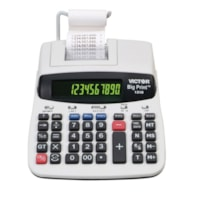 Victor Big Print Thermal Printing Desktop Calculator