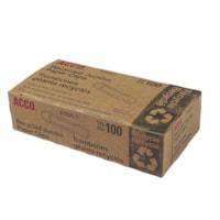 Trombones recyclés nº 4 Acco, 1 7/8 po, argent, boîte de 100