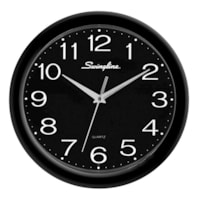 Swingline Fashion Clock, Black