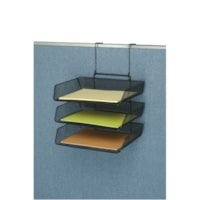 Fellowes Partition Additions Mesh Triple Tray