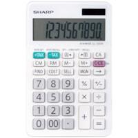 Calculatrice commerciale professionnelle 10 chiffres et à double alimentation Sharp