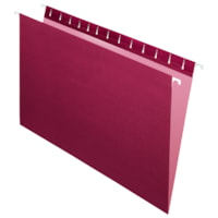 Grand & Toy Hanging Folders, Burgundy, Legal-Size, 25/BX