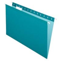 Pendaflex Premium Reinforced Hanging Folders, Teal, Legal Size, 25/BX