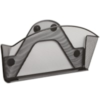 Safco Magnetic Mesh File Pocket, Single-file
