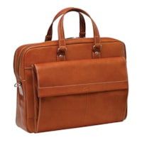 Mancini Colombian Collection Double Compartment Laptop and Tablet Briefcase