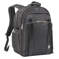 Travelpro Crew Executive Choice 2 Check Point Friendly Laptop Backpack, Black, Fits Laptops Up To 17
