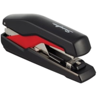 Swingline Supreme Omnipress SO30 Low-Force Stapler, Black/Red