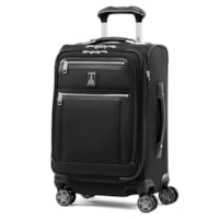 Travelpro Platinum Elite Expandable Business Plus Carry-On Spinner Bag, Black, 20