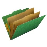 Pendaflex PressGuard Classification Folders, Green, Legal Size, 10/BX