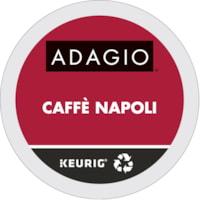 Dosettes K-Cup de café Adagio, Caffè Napoli, boîte de 24