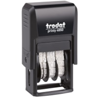 Trodat Printy 4850 Self-Inking Mini Dater With French Text REçU LE