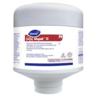 Diversey Suma Alupak II - Détergent pour lave-vaisselle sans danger pour les articles en aluminum, 9 lb., carton de 4