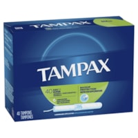 Tampax Super Absorbency Tampons, Unscented, 40/PK