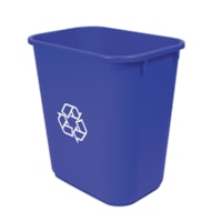 Storex Recycling Blue Basket, 26 L