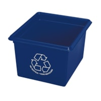 Fellowes Office Recycling Box, Blue, 14 L Capacity
