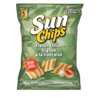 Sun Chips Multigrain Chips, French Onion, 40 g/Bag, 40 Bags/CT