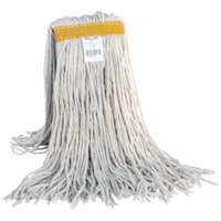 Globe Commercial Products Cotton Wet Mop With Cut End, 24 oz