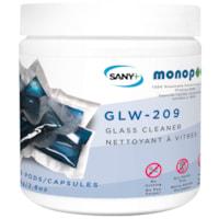 Sany+ MonoPOD Glass Cleaner, 25 Pods/PK