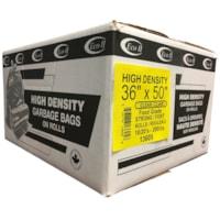 Sacs à ordures transparents robustes 36 po x 50 po Eco II Manufacturing Inc.