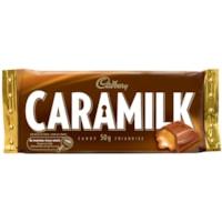 Cadbury Caramilk Chocolate Bars, Box of 48