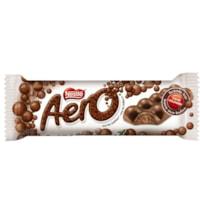 Barres de chocolat Aero Nestlé, 42 g, boîte de 48