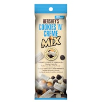 Hershey's Sweet and Salty Snack Mix Tubes, Cookies 'N' Creme, 56 g/PK, 10 Packages/BX