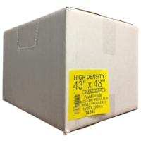 Sacs à ordures transparents de densité régulière 43 po x 48 po Eco II Manufacturing Inc.