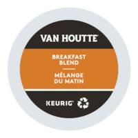 Van Houtte Single-Serve Coffee K-Cup Pods, Breakfast Blend, 24/BX