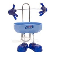 Purell Pal Hand Sanitizer Desktop Caddy for 236 mL Pump Bottle, Blue