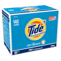 Tide Professional Powder Laundry Detergent with Oxy Bleach, 5.66 kg (140 Loads)