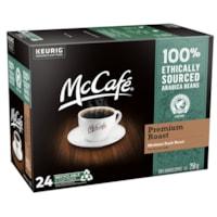 Dosettes K-Cup de café McCafé, torréfaction mi-noire, boîte de 24