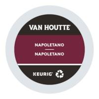 Dosettes K-Cup de café Van Houtte, Napoletano, boîte de 24