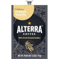 Flavia Alterra Single-Serve Coffee Freshpacks, French Vanilla, 100/CT