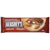 Hershey's Almond Chocolate Bars, 43g, Box of 36