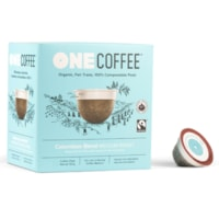 One Coffee Single-Serve Coffee Pods, Colombian Blend, 18/BX