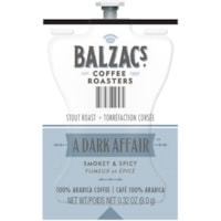 Flavia BALZAC'S Coffee Roasters Single-Serve Coffee Freashpacks, A Dark Affair, 76/CT
