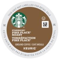 Starbucks Coffee Single-Serve K-Cup Pods, Pike Place Roast, 24/BX