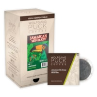 Wolfgang Puck Single Cup Coffee Pods, Jamaican Me'Crazy Light Roast, 18/BX - Ontario, Montreal and Quebec Residents Only