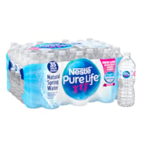 Nestle Pure Life Bottled Natural Spring Water, 500 mL, 35/CS
