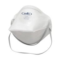 Dentec AD4 Series N95 Flat-Fold Disposable Respirators, Without Valve, 20/BX