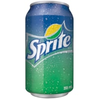 Sprite Soft Drink, 355 mL Can, Carton of 24