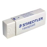 Staedtler Rasoplast Vinyl Eraser, Soft White, Large Size
