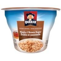 Quaker Instant Oatmeal, Maple & Brown Sugar, 48 g, 12/CT